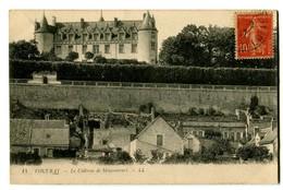 CPA 37 Indre Et Loire Vouvray Le Château De Moncontours - Vouvray