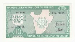 BURUNDI A TTB - Burundi
