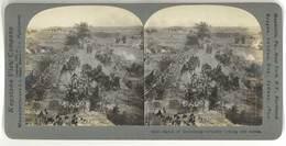 Photo Stéréoscopique : Battle Of Gettysburg, Artillery ... ( Soldats, Artillerie ) - Stereoscopio