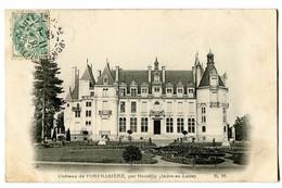 CPA 37 Indre Et Loire Château De L'Orfrasière Par Nouzilly - France