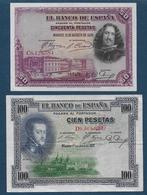 Espagne - 2  Billets - 50 Pesetas