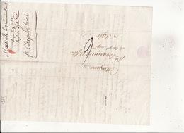 3 Germinal An 8 De Marseiile (Chapelié L'ainé ) à Citoyens P Bousquet & Fils à Agde RV - 1701-1800: Precursors XVIII