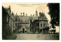 CPA 37 Indre Et Loire Saint-Avertin Château De Cangé Cour Interieure Côté Est - Saint-Avertin