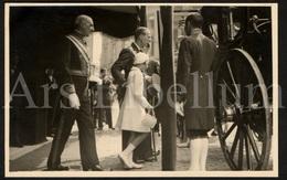 Postcard / ROYALTY / Belgique / België / Prince Charles / Prince Baudouin / Te Deum / Bruxelles / 21 Juillet 1937 - Personnages Célèbres