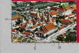 CARTOLINA VG THAILANDIA - BANGKOK - Wat Po - 9 X 14 - ANN. 1970 - Tailandia