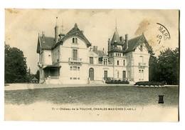 CPA 37 Indre Et Loire Ballan-Miré Château De La Touche Charles Mazières - Ballan-Miré