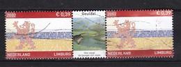 Nederland - Provincie Limburg - Geuldal - Gebruikt/used - NVPH 2073 Strip/tab - Periode 1980-... (Beatrix)