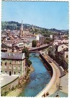 CPSM 19  Grand Format  TULLE Quais De La Corrèze 1971 - Tulle