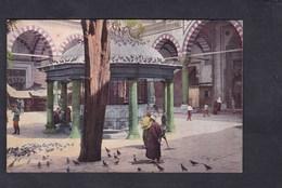 Vente Immediate Turquie Constantinople Cour Et Fontaine De La Mosquee Bayazed ( Animée Colorisée Ed. Rochat) - Turchia