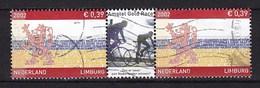 Nederland - Provincie Limburg - Amstel Gold Race - Gebruikt/used - NVPH 2073 Strip/tab - Periode 1980-... (Beatrix)