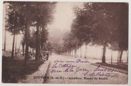 CPA 95 LOUVRES Carrefour Route De Senlis - Louvres