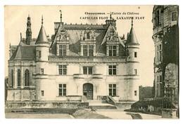 CPA 37 Indre Et Loire Chenonceaux Entrée Du Château Carte Publicitaire - Publicité