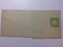 GERMANY - 1870`s 1/3 Groschen Newspaper Wrapper Unused - Allemagne