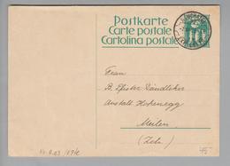 Heimat CH Rasierklingen-O Neuchatel 1928-06-07 # 9.03 Auf Ganzsache Nach Meilen - Suisse