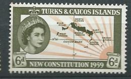 TURKS ET CAIQUE     - Yvert N° 177  ** Cw 33838 - Turks & Caicos