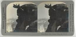 Photo Stéréoscopique : Glacier Point, Yosemite Valley , California, Usa - Photos Stéréoscopiques