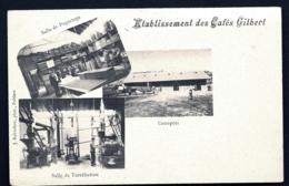 CPA PRECURSEUR FRANCE- POITIERS (86)- ETABLISSEMENT DES CAFÉS GILBERT EN 1900- ENTREPOTS- PAQUETAGE- TORRÉFACTION- - Poitiers
