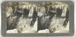 Photo Stéréoscopique : Marble Quarry , Proctor, Vt, Usa ( Carrières De Marbre ) - Photos Stéréoscopiques
