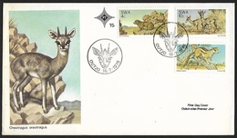 1976 - SOUTH WEST AFRICA - FDC + Y&T 365/367 + OUTJO - Timbres
