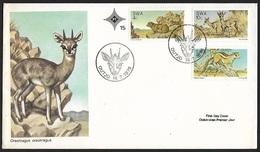 1976 - SOUTH WEST AFRICA - FDC + Y&T 365/367 + OUTJO - Autres - Afrique