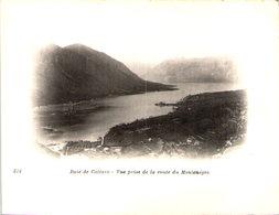 Baie De CATTARO - Vue Prise De La Route Du Montenegro -  Cliché Tiré Du Tour Du Monde Du Navire Duguay-Trouin, Début 20e - Montenegro