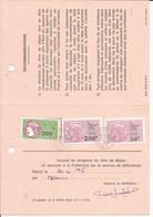 Taxe De L'Office Des Migrations Internationales - Fiscaux