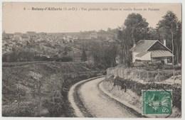 CPA 95 BOISSY L' AILLERIE Vue Générale, Côté Ouest Et Vieille Route De Puiseux - Boissy-l'Aillerie