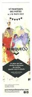 MARQUE PAGE - 19 ème PRINTEMPS DES POETES - AFRIQUE (S) - 15 ème PRIS DE POÉSIE DES LECTEURS DE LIRE ET FAIRE LIRE - Bookmarks
