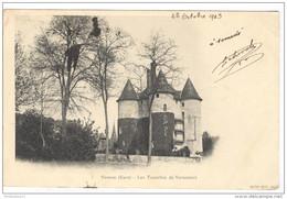CPA Vernon - Les Tourelles De Vernonnet - Circulée En 1903 - Vernon