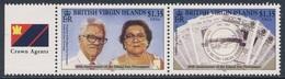 """British Virgin Islands 2003 Mi 1080 /1 SG 1122 /3 ** 40th Ann. """"Island Sun"""" Newspaper / 40 Jahre Wochenzeitung - Britse Maagdeneilanden"""