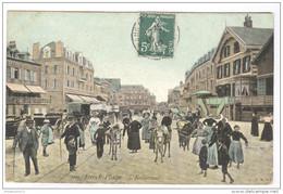 CPA Berck Plage - L'Entonnoir - Circulée En 1909 - Berck