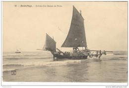CPA Berck Plage - Arrivée D'un Bateau De Pêche - Circulée - Berck