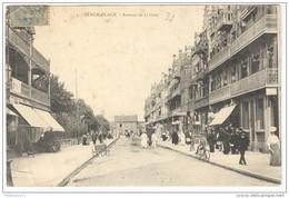 CPA Berck Plage - Avenue De La Gare - Circulée En 1906 - Berck