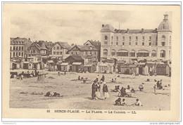 CPA Berck Plage - La Plage - Le Casino - Circulée - Berck
