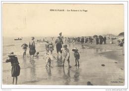 CPA Berck Plage - Les Enfants à La Plage - Circulée En 1913 - Berck