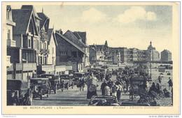 CPA Berck Plage - L'Esplanade - Circulée En 1913 - Berck