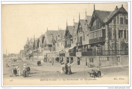 CPA Berck Plage - La Promenade De L'Esplanade - Non Circulée - Berck