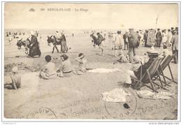 CPA Berck Plage - La Plage - Circulée En 1929 - Berck