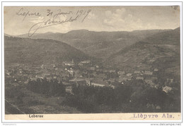 CPA Lièpvre / Leberau - Circulée En 1919 - Lièpvre