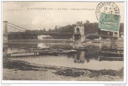 CPA Beauregard - Le Pont - Chateau Petrequin - Circulée En 1921 - Ars-sur-Formans