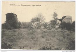 CPA Chatillon Sur Chalaronne - Vieux Remparts - Circulée - Châtillon-sur-Chalaronne