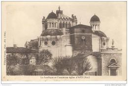 CPA Ars - La Basilique Et L'ancienne église D'Ars - Non Circulée - Ars-sur-Formans