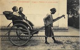 CPA - Asie > Viêt-Nam - Cochinchine Saïgon - Femmes En Pousse-Pousse - TB. état - Vietnam