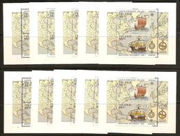 Cept 1992 Islande Iceland Ijsland Yvertn° 10 Ex. Bloc 13 *** MNH Cote 130 Euro Europa Discount Wholesale - Blocs-feuillets
