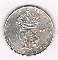 1 KRONE 1954 ZWEDEN /8138/ - Suède
