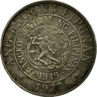 Monnaie, Philippines, 10 Sentimos, 1977, TTB, Copper-nickel, KM:207 - Philippines