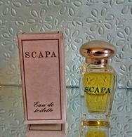 """Miniature """"SCAPA """" Des Parfums Scapa  Eau De Toilette 7,5 Ml Dans Sa Boite  (M076-2) - Miniatures Modernes (à Partir De 1961)"""