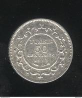 50 Centimes Tunisie 1912 A - TTB+ - Tunisia