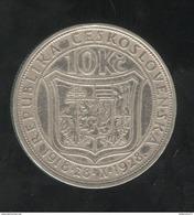 10 Korun Tchequoslovaquie 1928 - Tchécoslovaquie