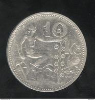10 Korun Tchequoslovaquie 1930 - Tchécoslovaquie